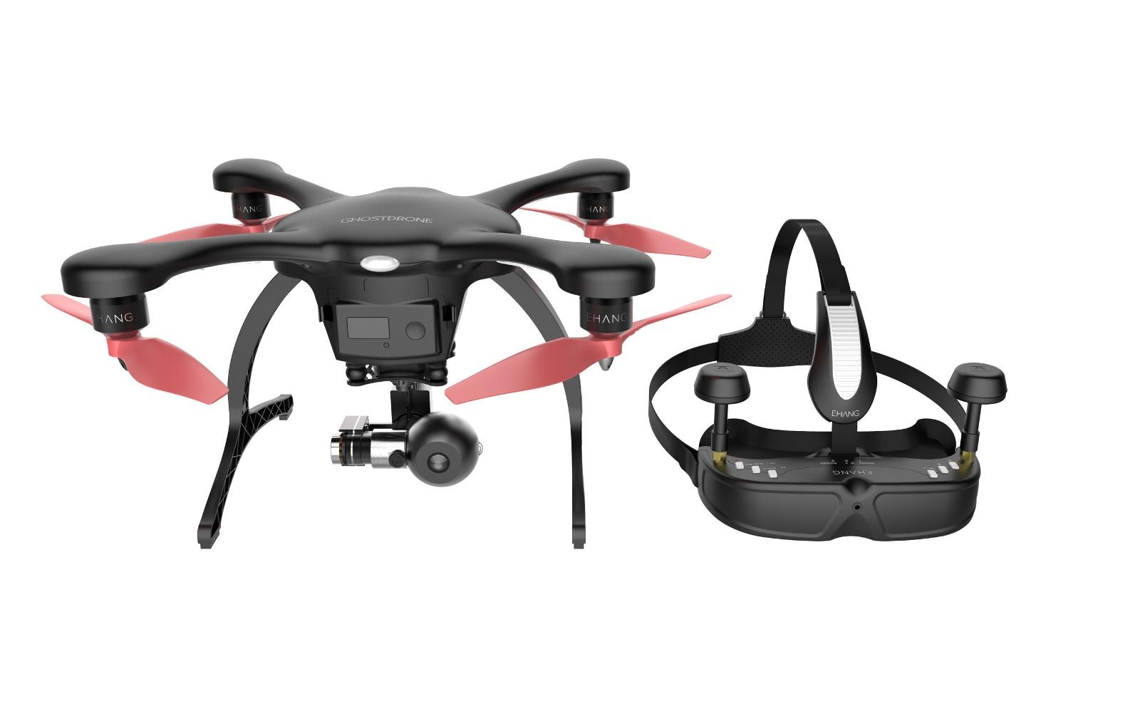 Квадрокоптер Ehang Ghostdrone 2.0 VR