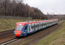 МЦД-4 Схема станций