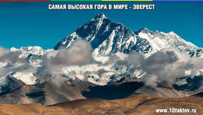 Самая высокая гора в мире