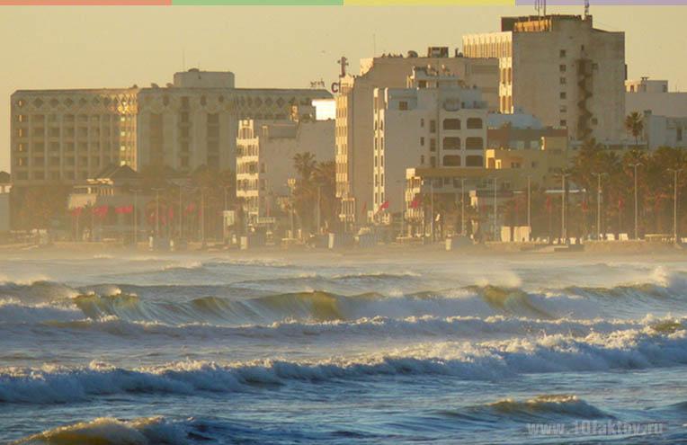 Погода в Тунисе зимой