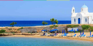 Погода на Кипре весной
