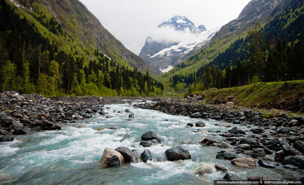 Кавказ - для путешествий по России