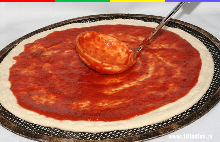 Рецепт пиццы как в пиццерии в домашних условиях