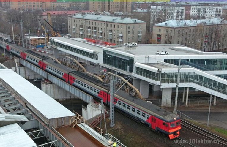 Переходы с метро на МЦК