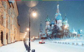 Погода в Москве декабрь январь